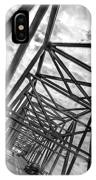 Crossing Through The Chesapeake Bay Bridge IPhone Case