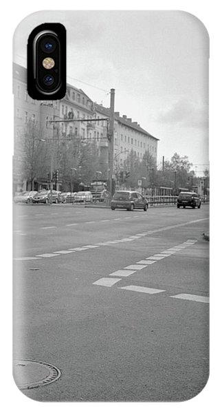 Crossroads In Prenzlauer Berg IPhone Case