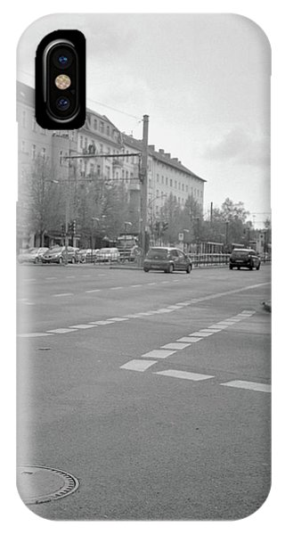 Crossroads In Prenzlauer Berg IPhone Case