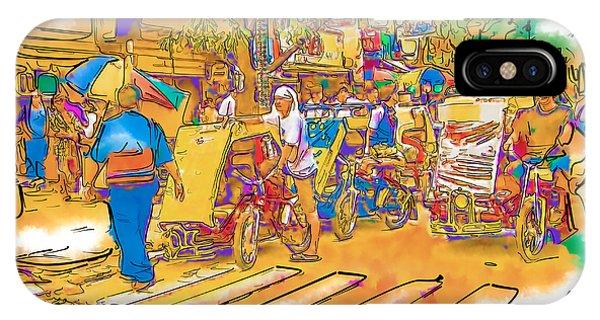 Crosswalk In The Philippines IPhone Case