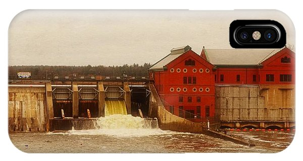 Croton Hydroelectric Plant IPhone Case