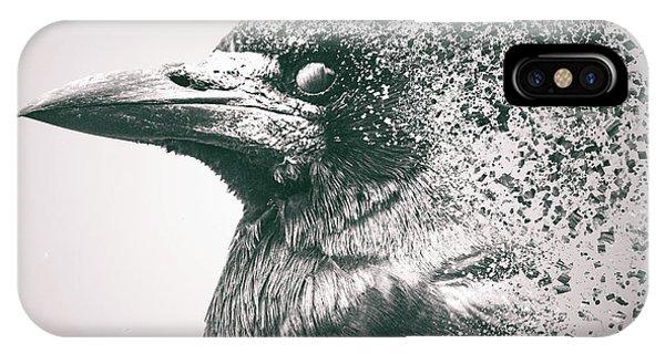 Crow Dispersion IPhone Case