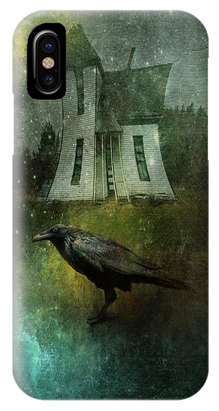Crow House IPhone Case