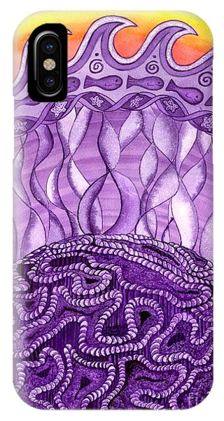 Crown Chakra IPhone Case