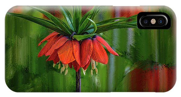 Crown-imperial Abstract #h5 IPhone Case