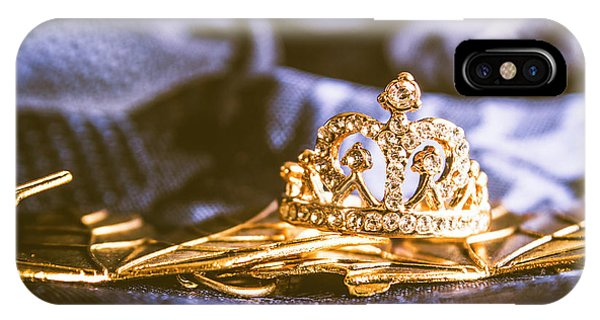 Stone Wall iPhone Case - Crowned Tiara Jewellery by Jorgo Photography - Wall Art Gallery