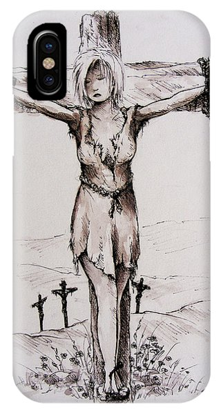 Crucified With Christ IPhone Case