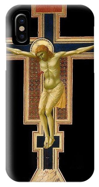 iPhone Case - Crucifix Giotto Di Bondone by Eloisa Mannion