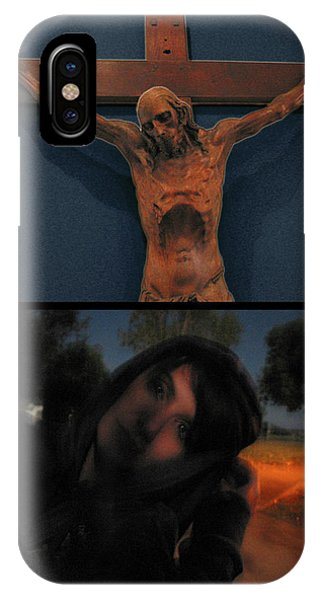 Crucifixion iPhone Case - Crucifixion by James W Johnson