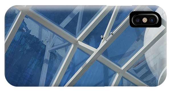Cruise Ship Abstract Girders And Dome 2 IPhone Case