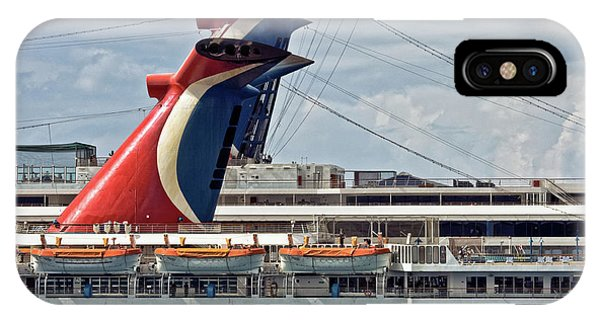 Cruise Ships In Cozumel, Mexico IPhone Case