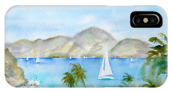 Cruising In The Caribbean IPhone Case