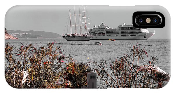 Cruising Past And Present IPhone Case