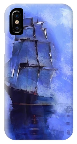Cruising The Open Seas IPhone Case