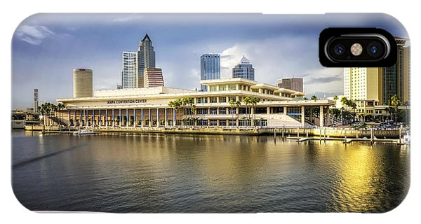 Cruising To Tampa In Hdr IPhone Case