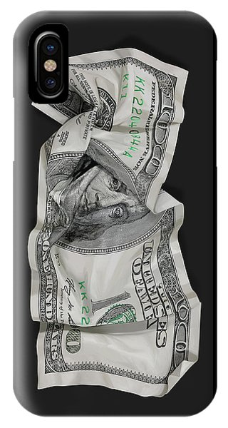 100 iPhone Case - Crumpled Franks by Canvas Cultures