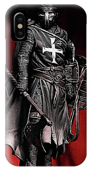 Crusader Warrior - Medieval Warfare IPhone Case