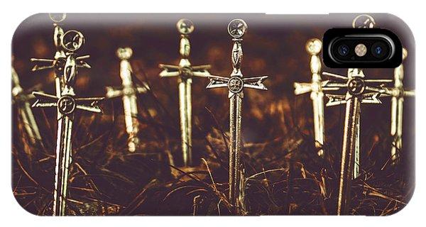 Crusaders Cemetery IPhone Case