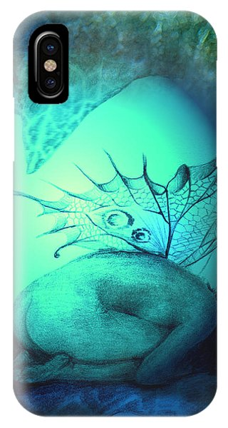 Crying Fairy IPhone Case