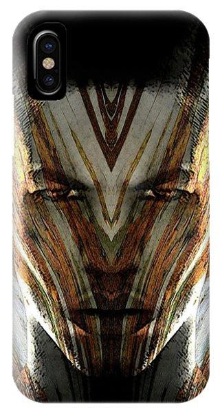 Cryptofacia 107 IPhone Case