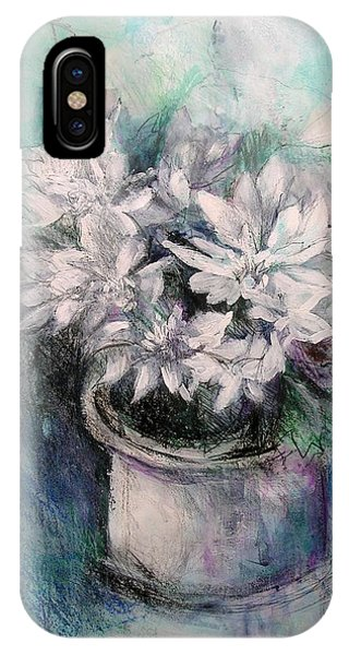 Crysanthymums IPhone Case