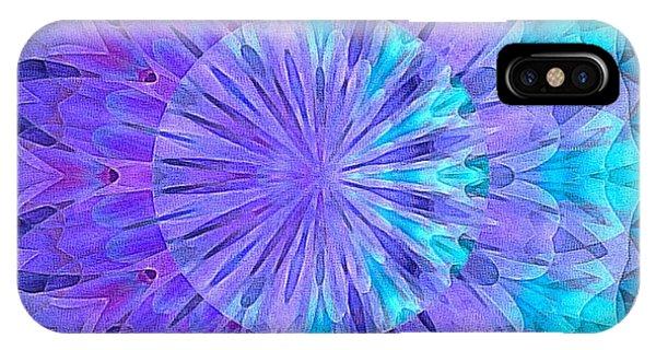 Crystal Aurora Borealis IPhone Case