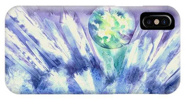 Crystal Awakening IPhone Case