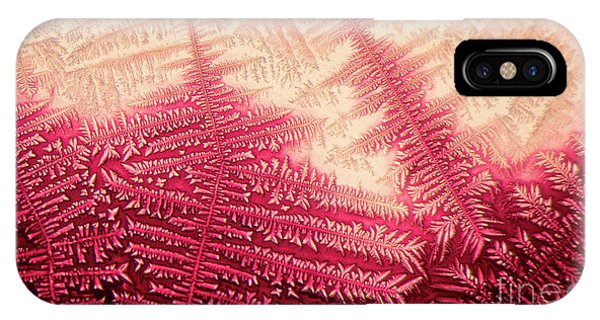 IPhone Case featuring the photograph Crystal Of Ammonium Chloride by Beauty of Science