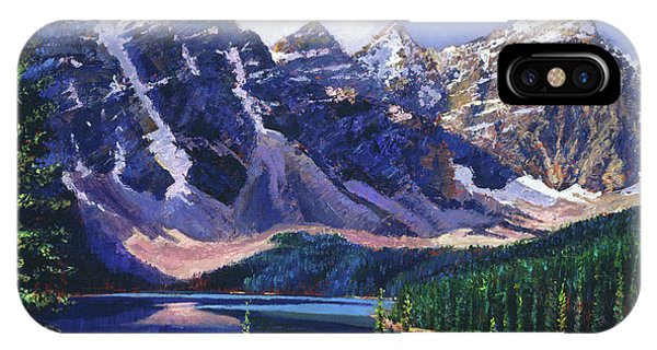 Rocky Mountain iPhone Case - Crystal Blue Waters by David Lloyd Glover