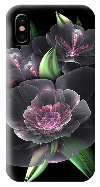 Crystal Bouquet IPhone Case