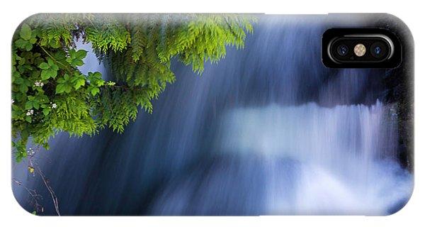 Crystal Creek Waterfalls IPhone Case