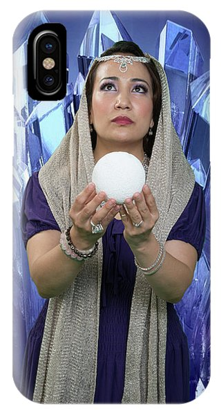 Crystal Goddess IPhone Case