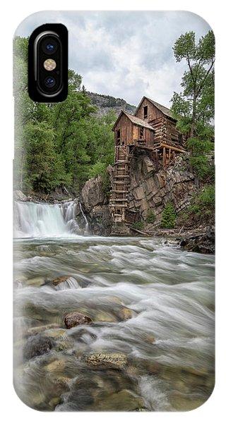 Crystal Mill Colorado 2 IPhone Case