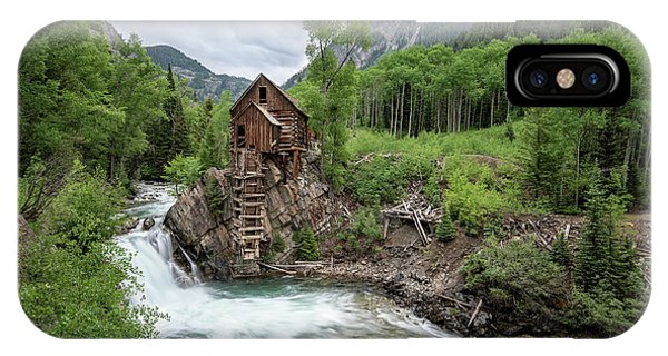 Crystal Mill Colorado 4 IPhone Case