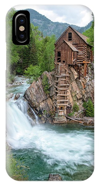 Crystal Mill Colorado IPhone Case