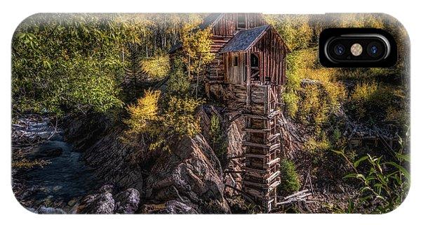 Crystal Mill Colorado IPhone Case