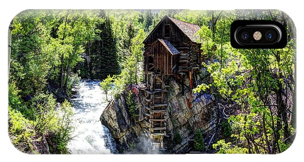 Crystal Mill IPhone Case