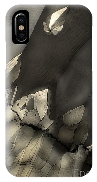 Falling Crystals IPhone Case
