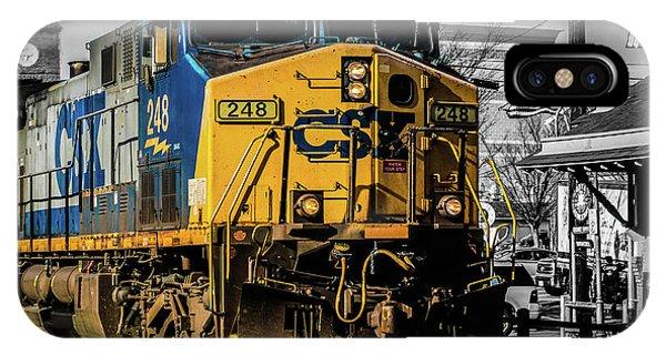 Csx Engine Gaithersburg Md IPhone Case