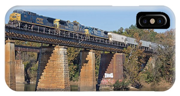 IPhone Case featuring the photograph Csx Q463 11/3/2013 A by Joseph C Hinson Photography