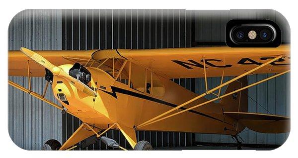 Cub Hangar 0 2017 Christopher Buff, Www.aviationbuff.com IPhone Case