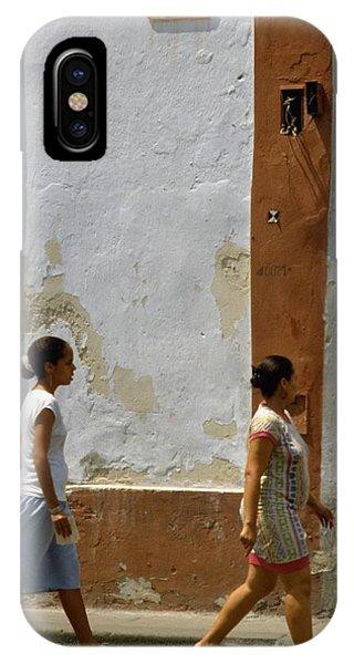 Travelpics iPhone Case - Cuba Calle In Havana Cuba by Travel Pics