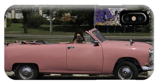 Cuba Car 5 IPhone Case