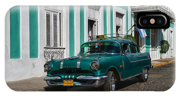 Cuba Cars II IPhone Case
