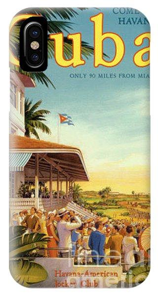 Cuba-come To Havana IPhone Case