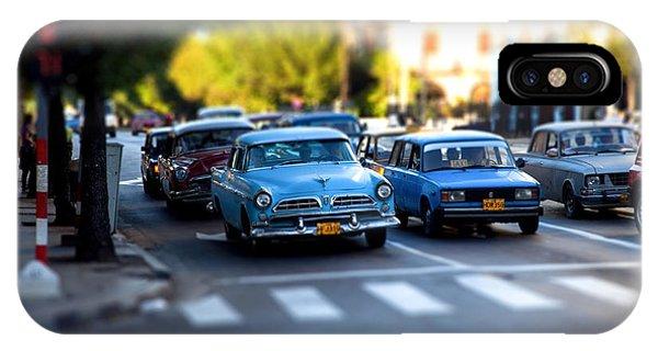 Cuba Street Scene IPhone Case
