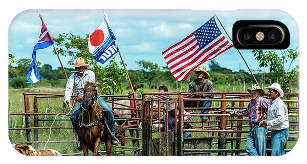 Cuban Cowboys IPhone Case