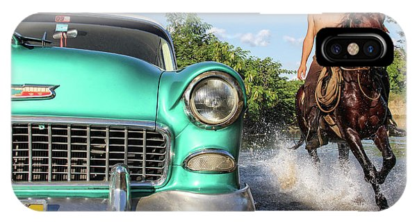 Cuban Horsepower IPhone Case