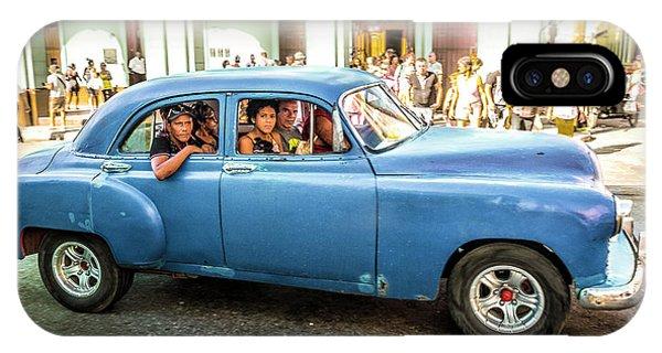 Cuban Taxi IPhone Case
