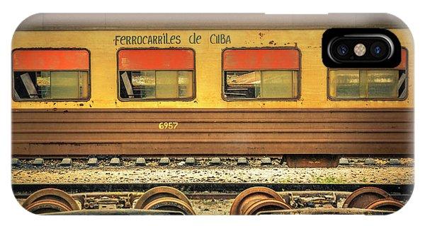 Cuban Train IPhone Case